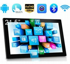 10-32inch Android Tablet PC all in one network LCD ad player with touch function