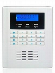 GSM/PSTN dual network Security System