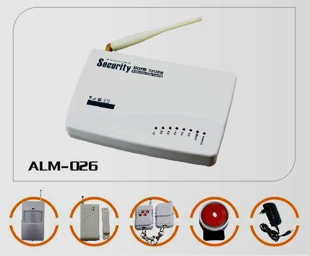 GSM Alarm System With Voice Record 1