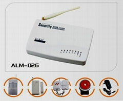 GSM Alarm System With Voice Record