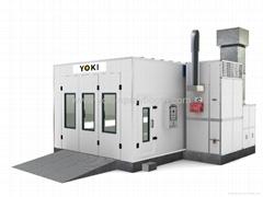 YK-360 Best Downdraft Car Spray Paint Baking System Booth