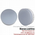 Ceiling mounted round led panel lights PMMA acrylic surface 1