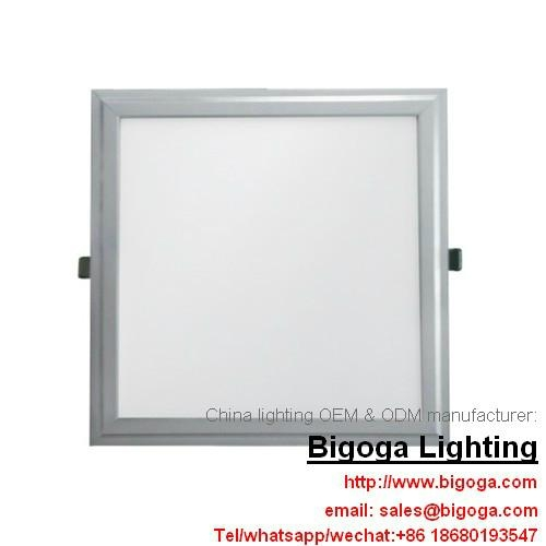 36w 48w 300*300mm 600*600mm square office lighting pmma aluminum material  1