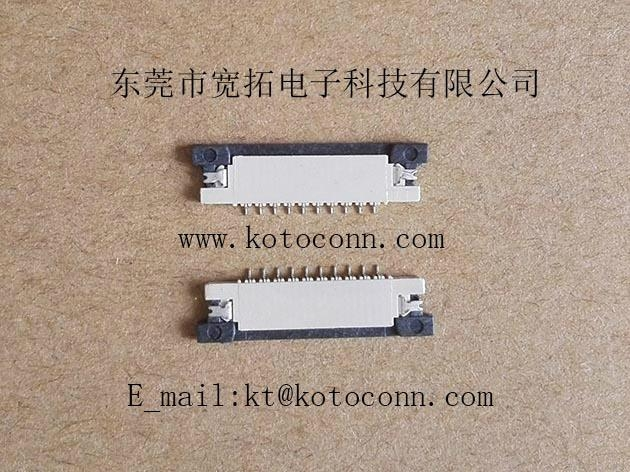 FPC 1.0PH 1.2H SLIDE TYPE TOP Contact 1