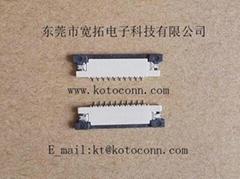FPC 1.0PH 1.2H SLIDE TYPE TOP Contact