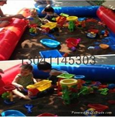 儿童充氣沙灘池