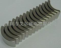 深圳N35瓦形磁铁电机磁瓦