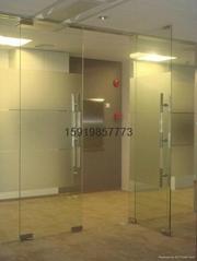 龍華自動玻璃門
