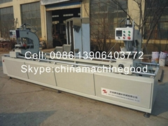 pvc window machine aluminum window