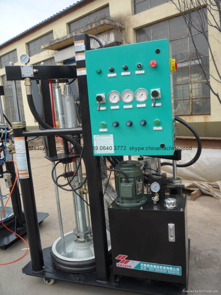 two component silicone sealant rubber extruder machine
