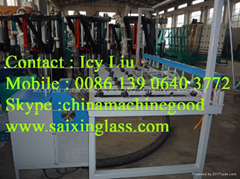 hotmelst sealant extruder machine for insulating glass machine