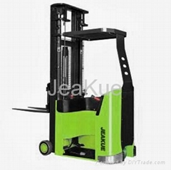 Narrow Balanced Weight Type Electric Forklift