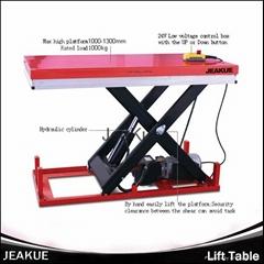 4 Ton AC Power High Quality Automatic Lifting Mini Scissor Hydraulic Lift Table