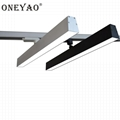 2 wires 600mm length 40W LED track linear light 1