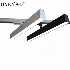 2 wires 600mm length 40W LED track linear light
