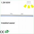 2 wires 600mm length 40W LED track linear light 3