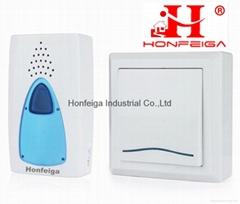 Honfeiga 206T1R1 Wireless Door Bells