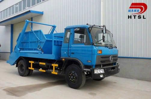 4x2 Donfeng Swinging Arm Garbage Truck 1