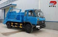 4x2 Donfeng Swinging Arm Garbage Truck