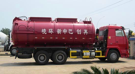 HOWO Tank Sludge Transportation Truck 3