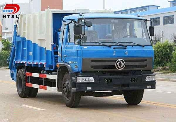 6x4 Garbage Compactor Truck for Sale 1