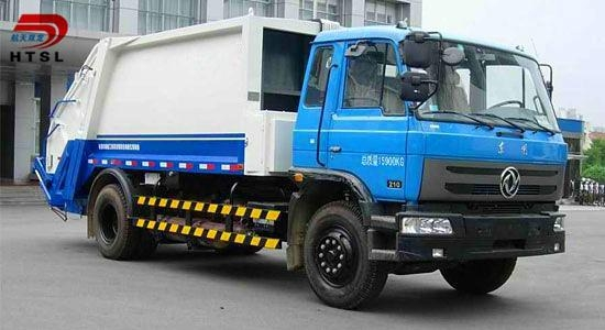 6x4 Garbage Compactor Truck for Sale 2
