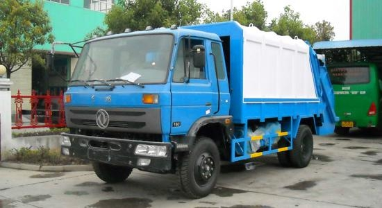6x4 Garbage Compactor Truck for Sale 3