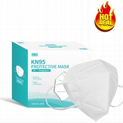 Wholesale Reusable Breathing Protective KN95 Face masks Earloop