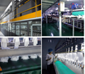 Clear Transparent Protective Powder Free Disposable Examination PVC Vinyl Gloves 5