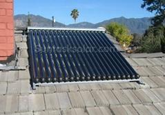 Solar Keymark heat pipe solar colletor