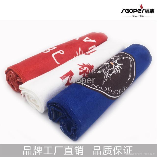 毛巾定制 印花毛巾来图定做 绣LOGO 5