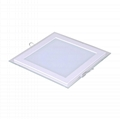 Glass panel light - Square, 6W (12W / 18W / 25W)
