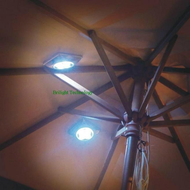 Solar Umbrella Light / Solar Parasol Light 1