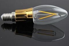 2W Filament LED Candle Lamp
