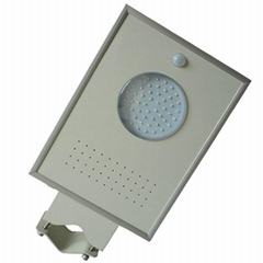 6W Integrated Solar LED garden light - All in one LED solar street light