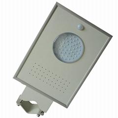 6W Integrated Solar LED garden light - All in one LED solar street light