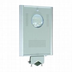 8W Integrated Solar LED street light - All in one LED solar garden light