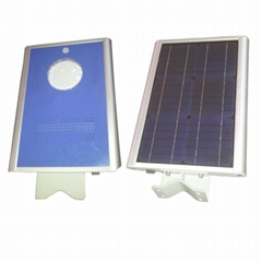 12W Integrated Solar LED street light - All in one LED solar garden light