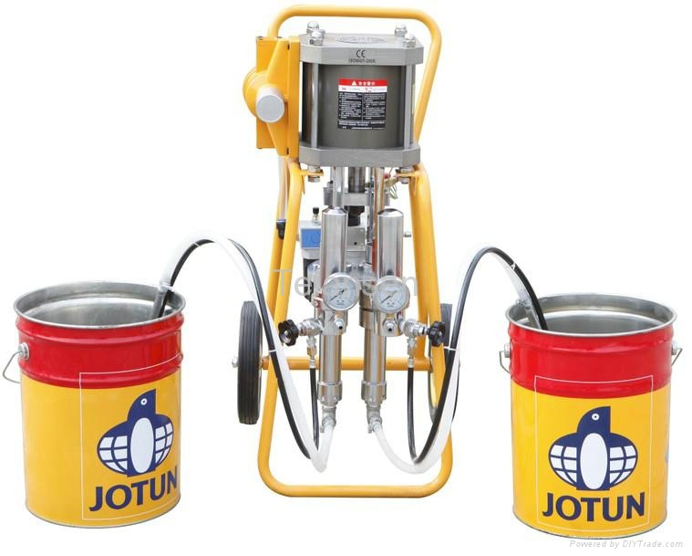 Two-component high-pressure airless sprayer 1