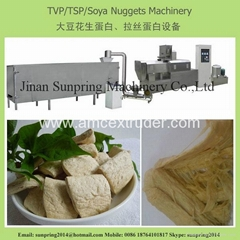 Textured Soy Protein Making Machine