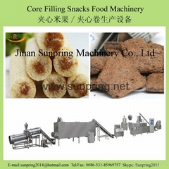 Core Filling Snacks Food Machinery