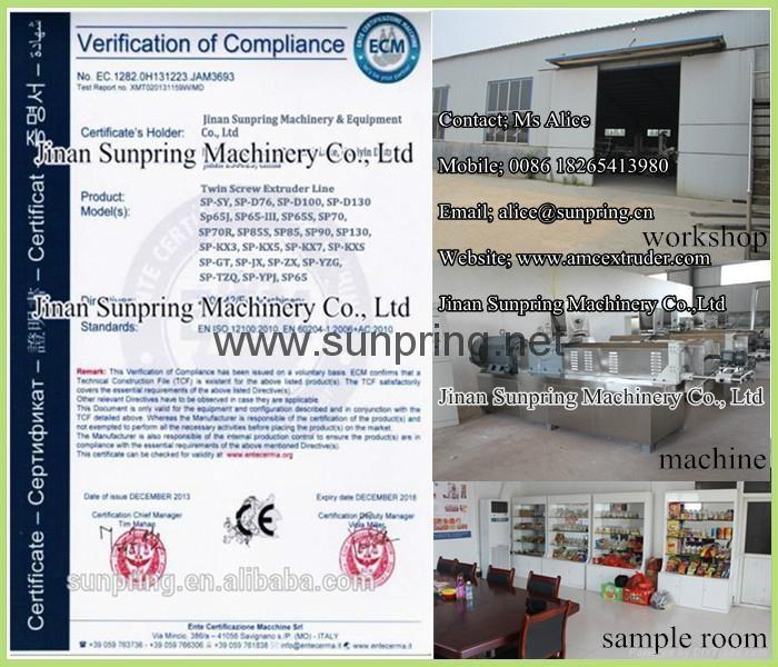 Sunpring CE Certicicate
