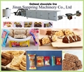 Oats Chocolate Snacks Making Machine
