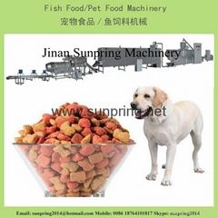 300公斤產量的狗糧生產線