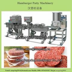 漢堡餡餅生產線