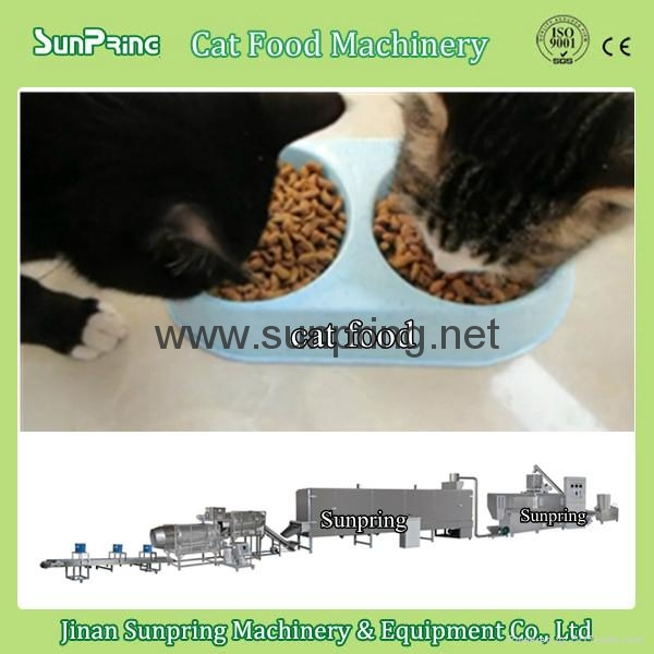 Pet Cat Food Making Machine