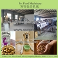 Steam Heating Dog Food Machine
