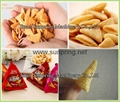 2016 Wheat Flour Bugles Snacks Machine