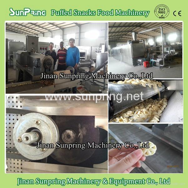 芝士球膨化小吃機械生產線 13