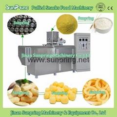 Corn Puffs Making Extruder Machine